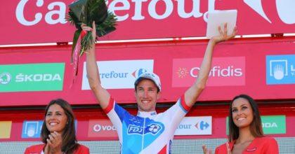 Alexandre Geniez utiekol zvyšku štartového poľa a pripísal si vavrín v tretej etape Vuelty