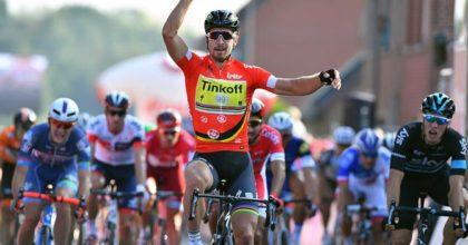 Fantastický Peter Sagan predviedol v tretej etape Eneco Tour víťazný špurt