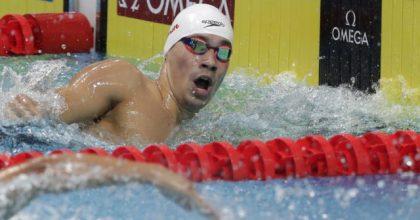 MS v plávaní Budapešť: Richard Nagy v najlepšej osmičke na 400 m polohové preteky