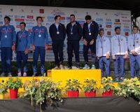 Slovensko získalo na ME v Prahe striebro v kategórii 3xC1 mužov