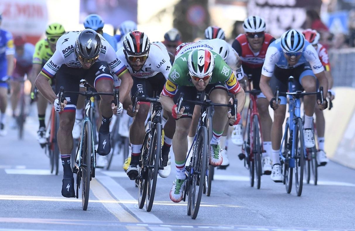 Tirreno – Adriatico 3. etapa: Fenomenálny Peter Sagan v hromadnom špurte na vynikajúcom druhom mieste