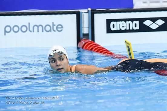 Katarína Listopadová sa kvalifikovala do semifinále veľmi dobrým 8. časom na 100 m motýlik