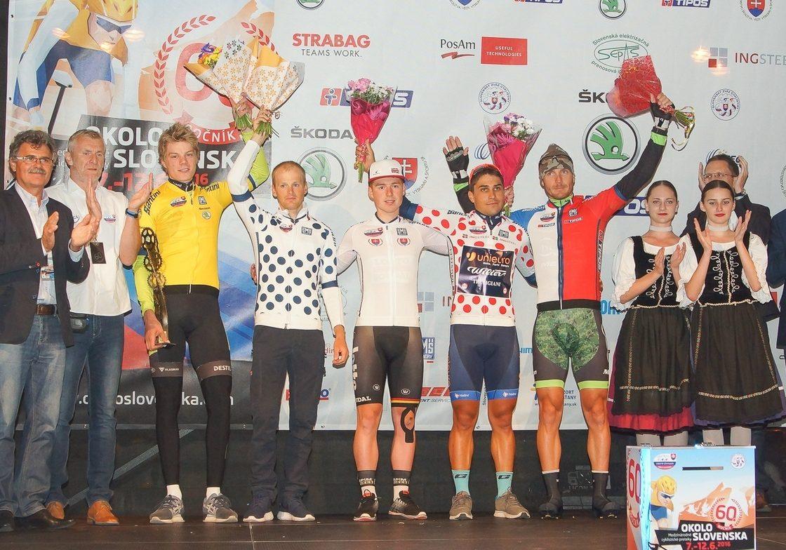 Maroš Kováč skončil v top 3 banskobystrického prológu v rámci pretekov Okolo Slovenska, v top 10 aj Bellan