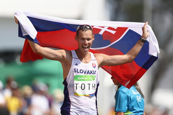 Famózne zlato Mateja Tótha v chôdzi na 50 km, Usain Bolt získal športovú nesmrteľnosť