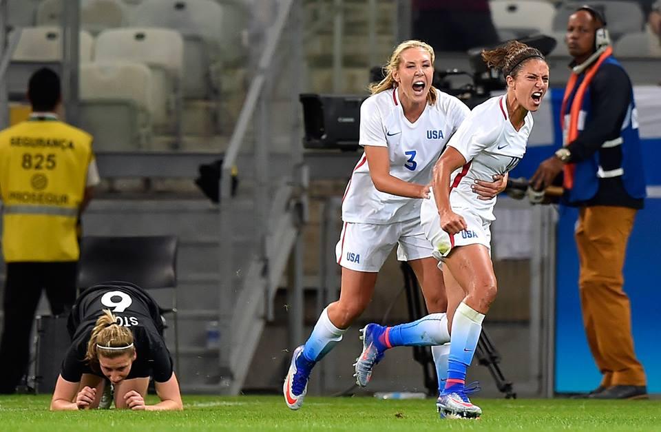 Futbalovým turnajom žien boli zahájané športové zápolenia v Riu
