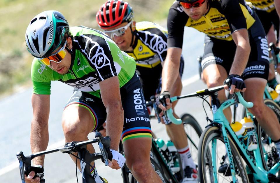 Peter Sagan ovládol špurt hlavnej skupiny v 4. etape Okolo Kalifornie, zvíťazil Huffman