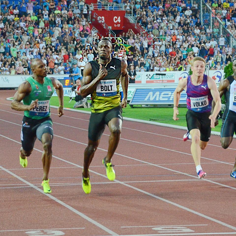 Usain Bolt sa rozlúčil so Zlatou tretrou víťazstvom, Ján Volko kvalitne, svetový rekord van Niekerka
