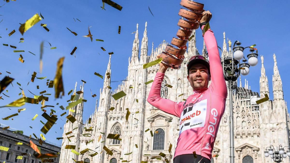 Tom Dumoulin debutovo opanoval Giro d´Italia