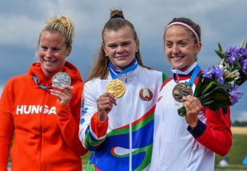 EH Minsk: Mariana Petrušová si v K1 na 5000 m dopádlovala po bronz