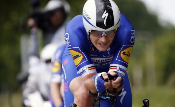 Časovku na Okolo Švajčiarska vyhral Yves Lampaert
