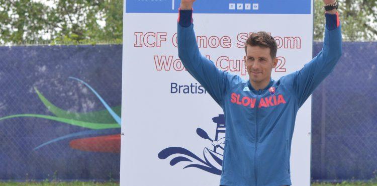 Skvelý Matej Beňuš vybojoval pódium v C1 SP na domácej vode v Čunove