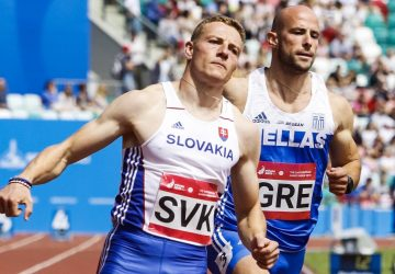 Ján Volko sa umiestnil v Düsseldorfe na 60 m v top 3 a vyrovnal slovenský rekord