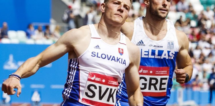 EH Minsk: Fantastický Ján Volko si došprintoval po striebro na 100 m