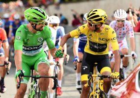 Tour de France 21. etapa: Famózny Peter Sagan získal rekordný siedmy zelený dres, výhru si vyšpurtoval Caleb Ewan