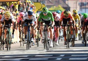 Tour de France 7. etapa: Hviezdny Peter Sagan si vyšpurtoval tretie miesto