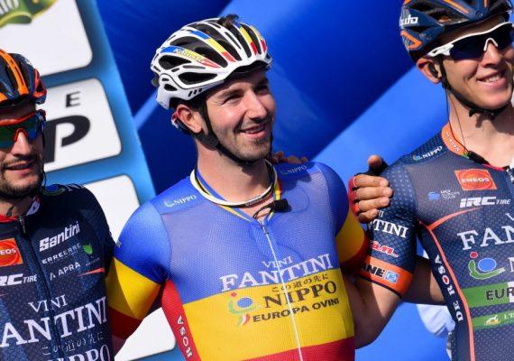 Okolo Slovenska 2. etapa: V upršanom počasí triumfoval Eduard Grosu, Erik Baška v top 5