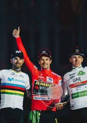 La Vueltu ovládol Primož Roglič, stal sa prvým slovinským víťazom Grand Tour