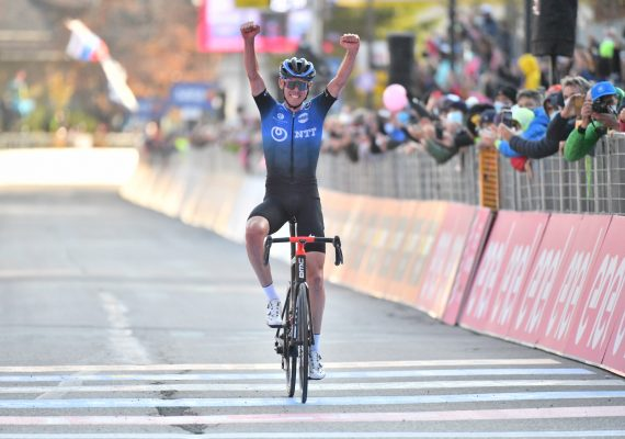 Giro di Italia 17. etapa: Vrchol stúpania si podmanil Ben O Conner