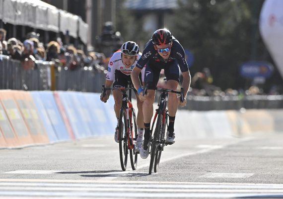 Giro di Italia 20. etapa: V špurte na vrchole stúpania bol najsilnejší Tao Hart