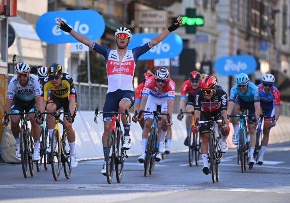 Miláno – San Remo: Peter Sagan finišoval tesne pod pódiom